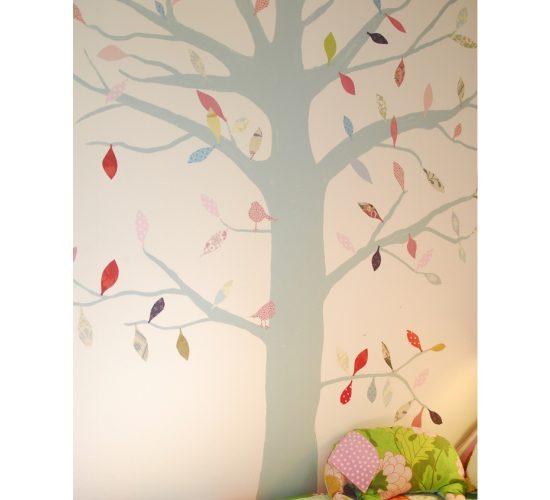 fototapeta dziecieza drzewo liscie