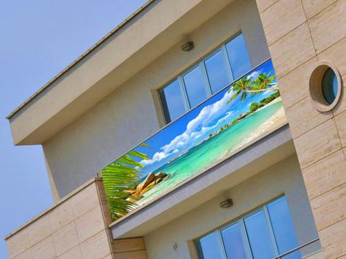 oslona balkonowa tropiki plaza