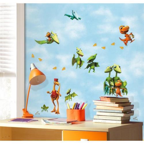 fototapeta dla dzieci dinozaury biurko