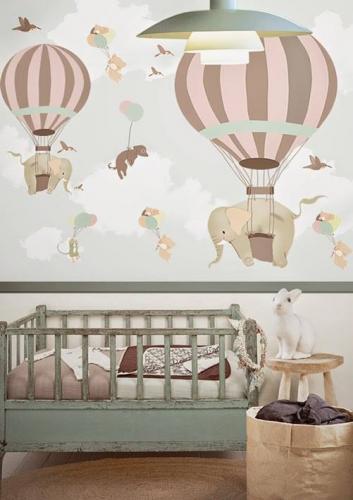 pokoj dzieciecy fototapeta dla niemowlaka