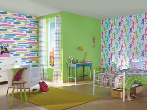 pokoj dzieciecy fototapeta kolorowa