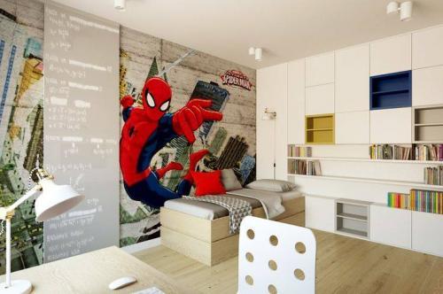 pokoj dzieciecy fototapeta spiderman