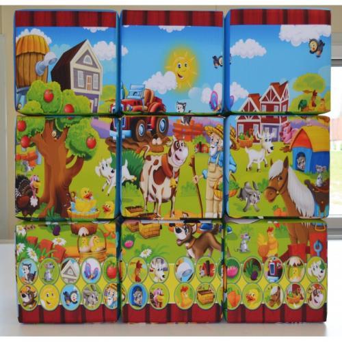 pufa puzzle kostka farma