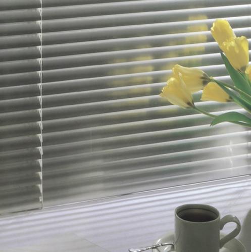 zaluzje aluminowe zolte tulipany