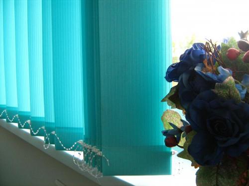 zaluzje pionowe  morskie kwiat